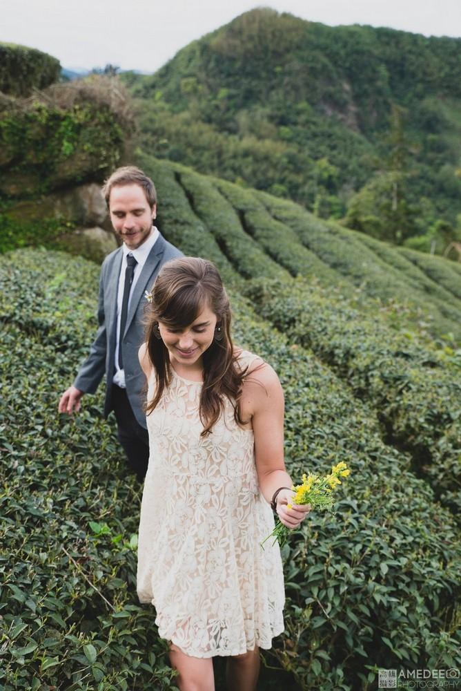 George&Laura的阿里山婚紗攝影