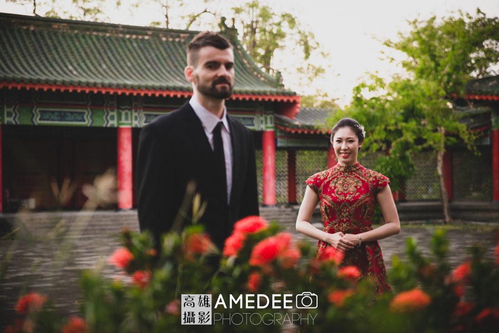 Eddie & Eva在蓮池潭的婚紗攝影