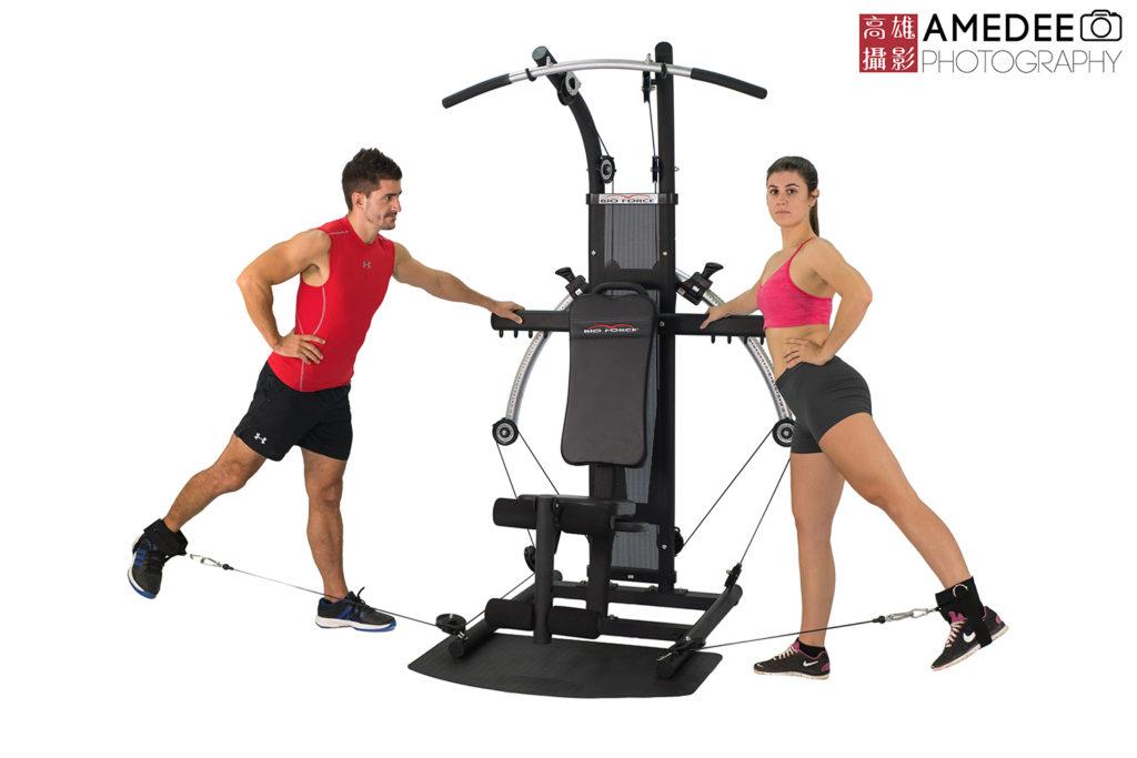 明煌家庭健身器材商品攝影
