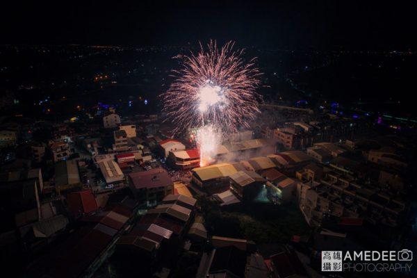 台南鹽水蜂炮活動空拍攝影