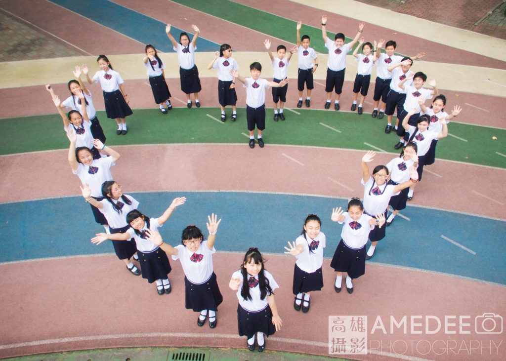 陽明國小畢業照平面、空拍攝影