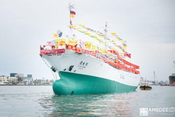 日大船務股份有限公司在旗津的下水儀式活動攝影