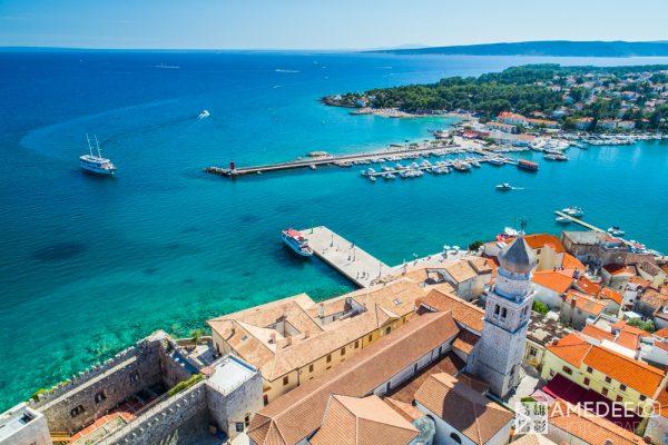 克羅埃西亞旅遊平面、動態空拍攝影