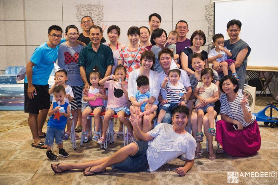 小廣和澄澄抓周與生日派對活動攝影