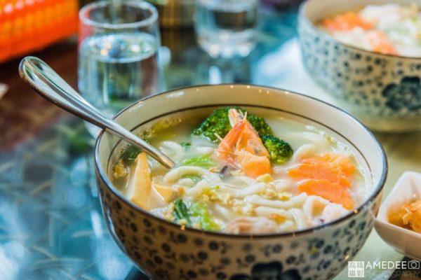 澎湖小城故事咖啡庭園餐廳熗鍋麵