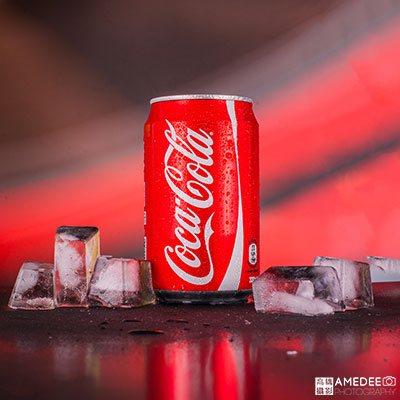 可口可樂罐-商品攝影