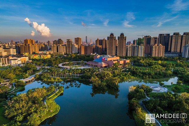 高雄美術館公園空拍攝影