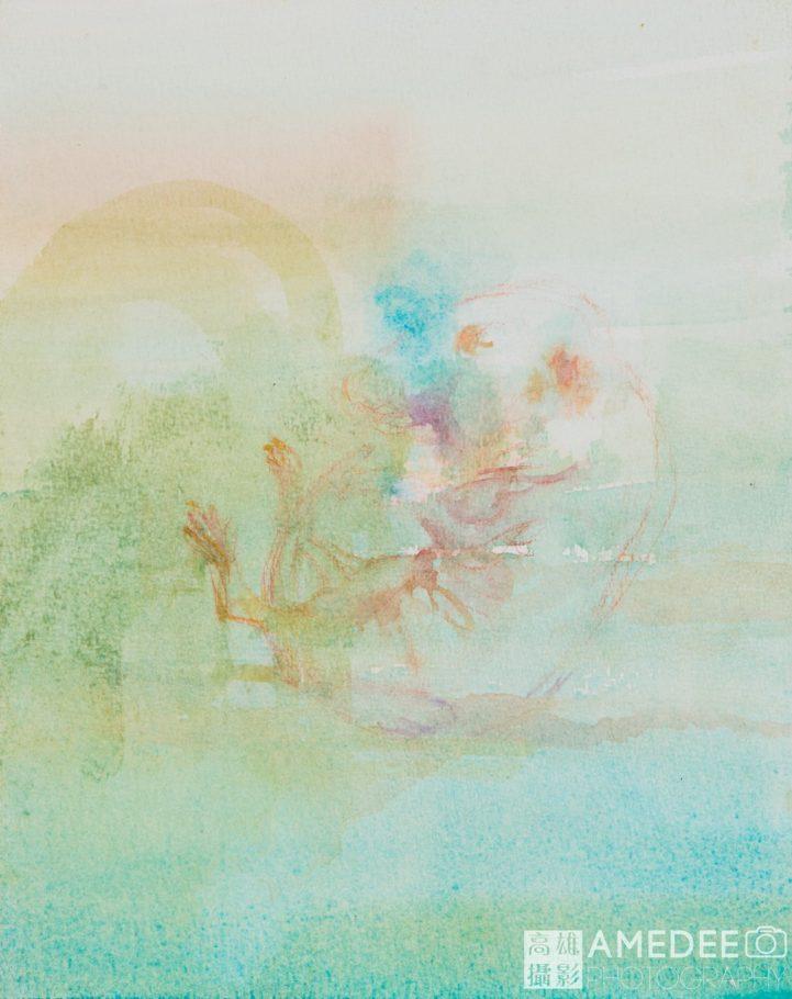 水彩畫拍照