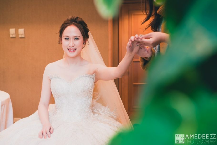 新娘化妝準備