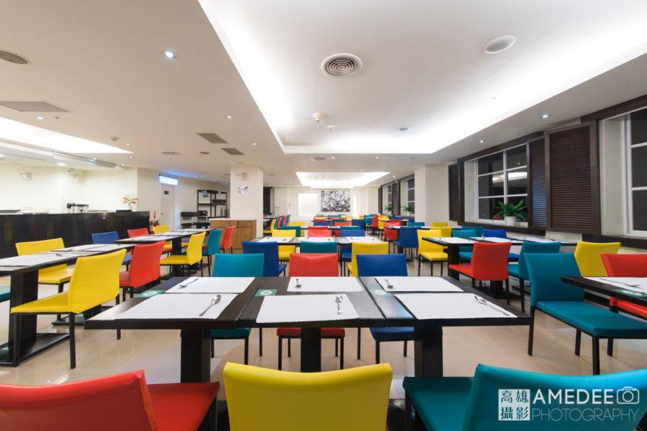 哲園學產文教會館飯店餐廳空間