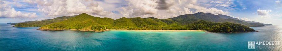 Nagtabon海灘空拍全景圖