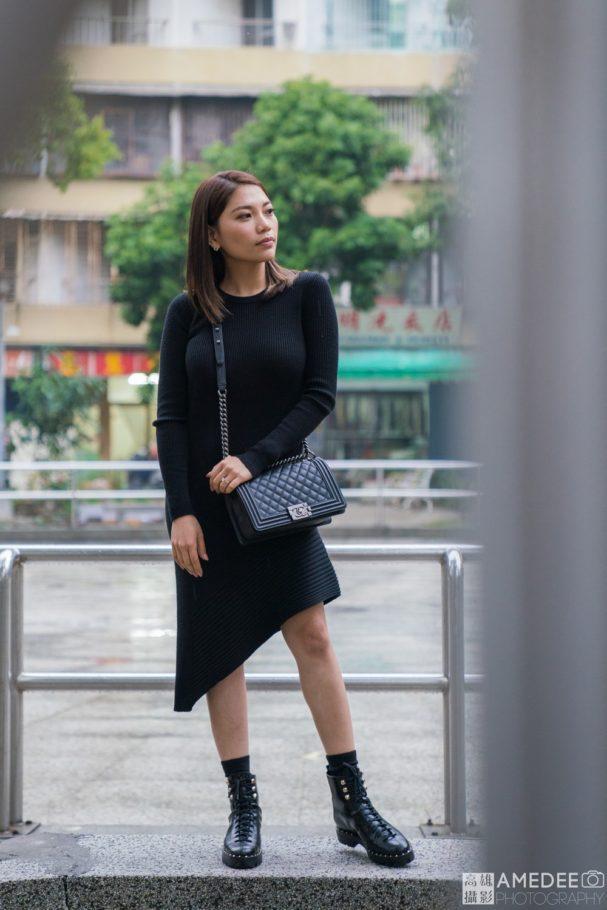 Cynthia在小香港-果貿社區人像擺拍