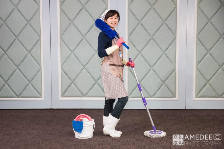清潔工裝扮
