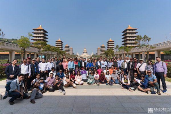 佛光山緬甸旅遊團團體照