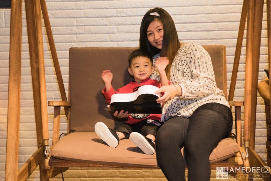 小壽星和媽媽