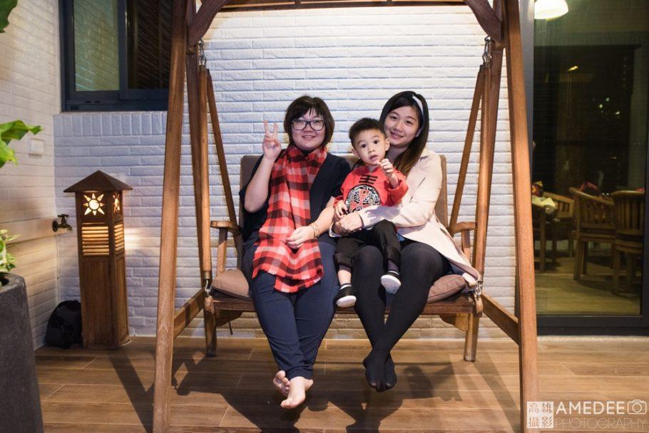 壽星與家人
