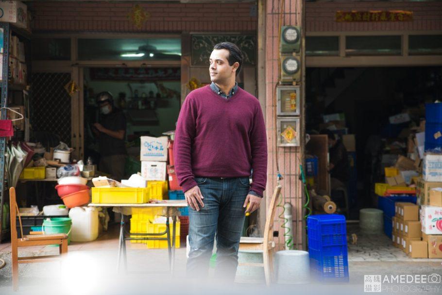 Matt在街上