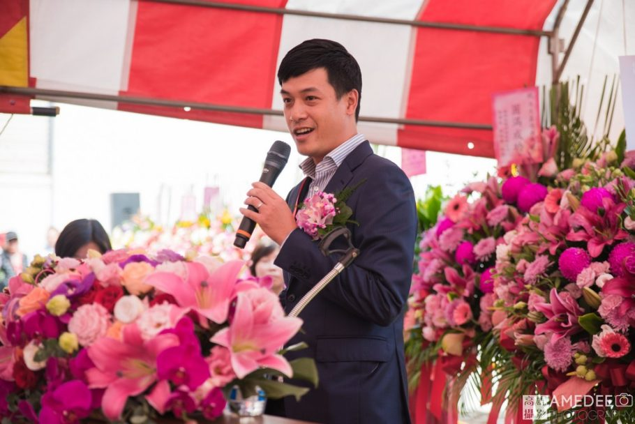 日大船務股份有限公司長公子 張耀仁先生致詞
