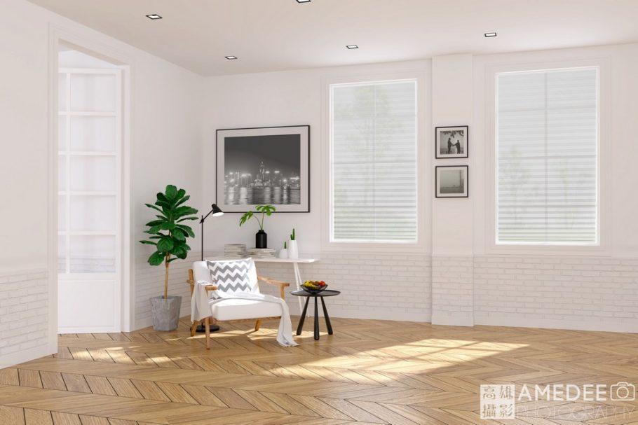 客廳內的窗簾