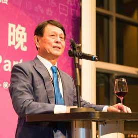 高雄展覽館董事長涂建國先生-頂級生活展活動攝影