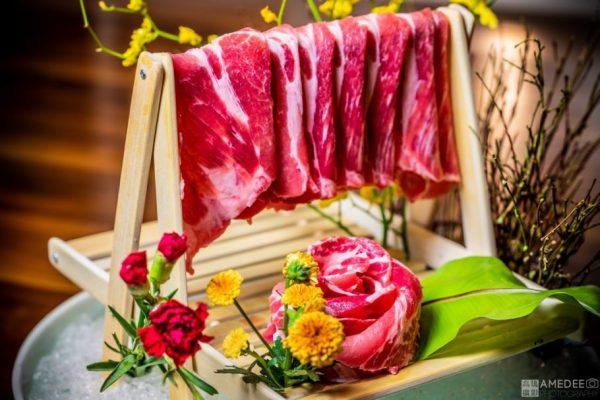 蒙娜麗莎海鮮鍋物總匯情境美食攝影