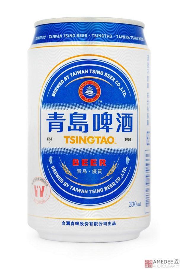 青島啤酒鋁罐去背攝影