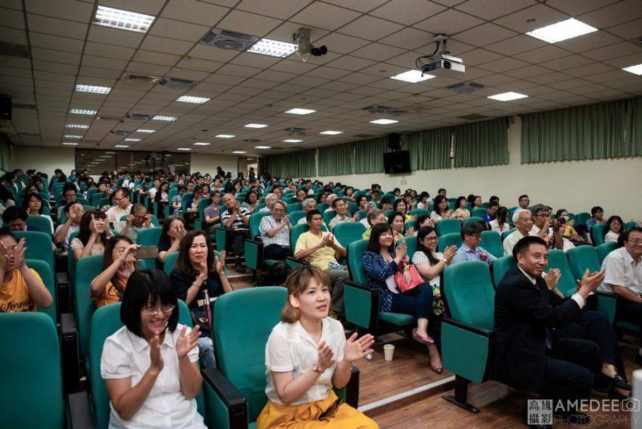 康震教授於高雄師範大學演講唐詩的魅力活動攝影