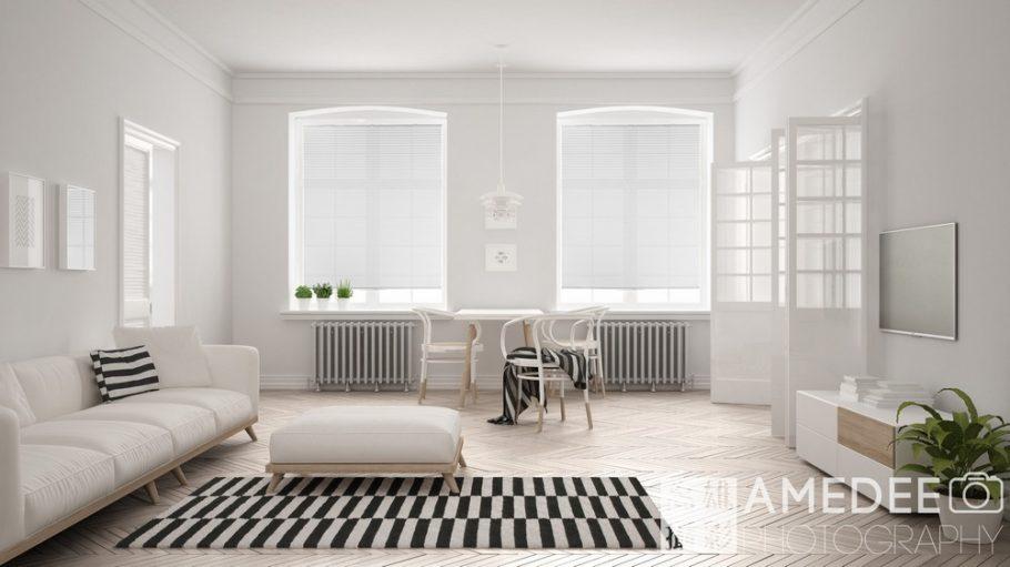 金坤實業窗簾商品攝影透白