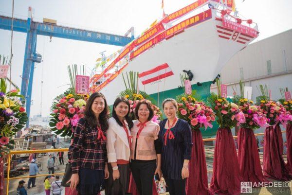 日大船務股份有限公司在旗津中信造船廠日大鑫新船下水典禮活動攝影