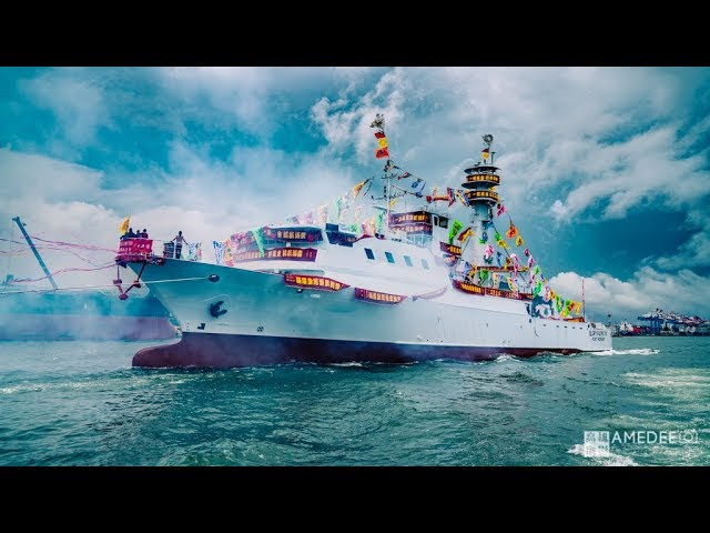 海原晟股份有限公司在旗津新船下水儀式活動攝影