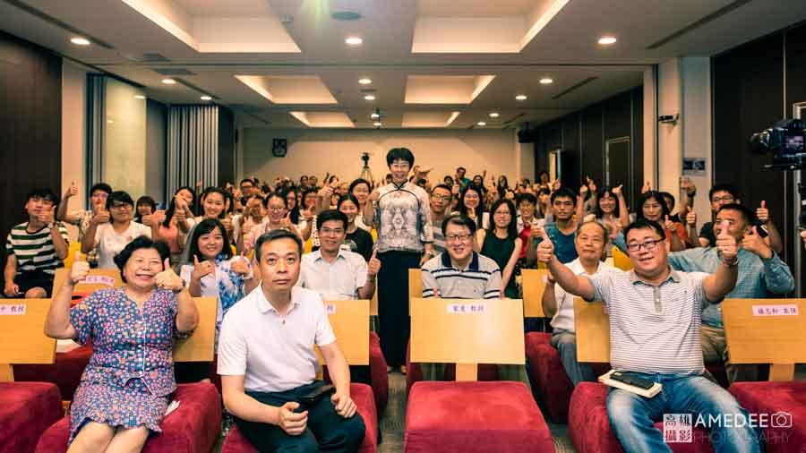 蒙曼教授於中正大學演講唐詩中的四季輪迴活動攝影