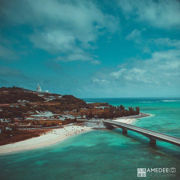 日本沖繩空拍攝影