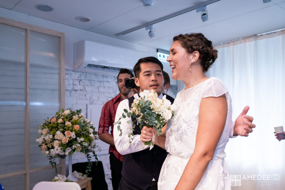 Mark&Emmilyn在Aroma Cafe的婚禮攝影
