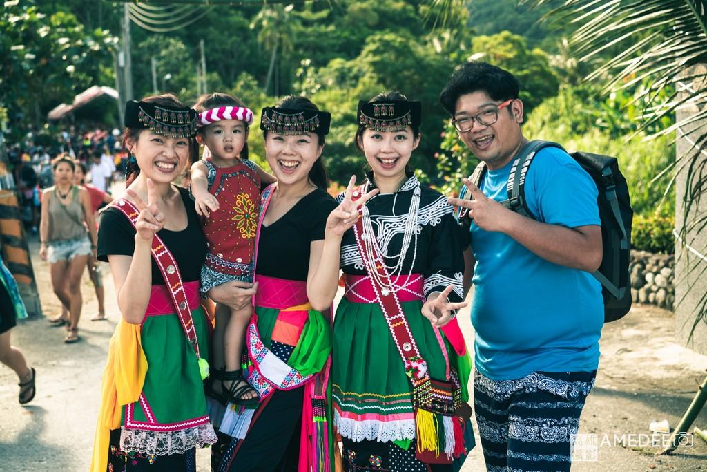 台東宜灣阿美族豐年祭旅遊景點人物攝影