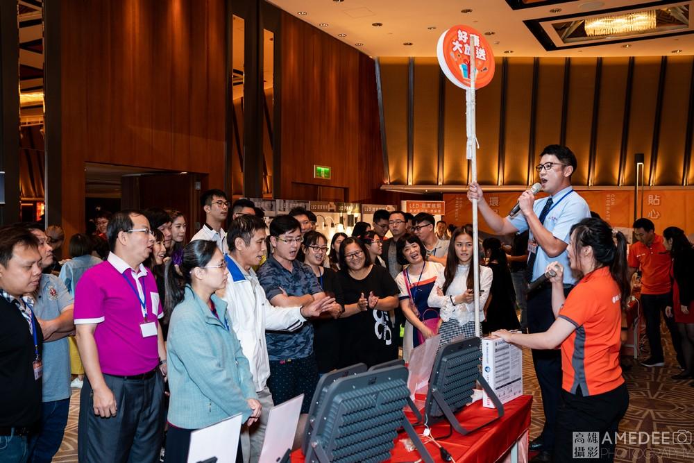 台南香格里拉展晟照明新品研討餐會活動攝影