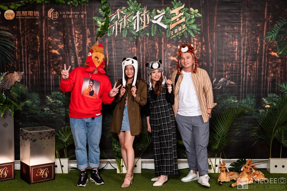 高賢電信在寒軒飯店春酒活動攝影
