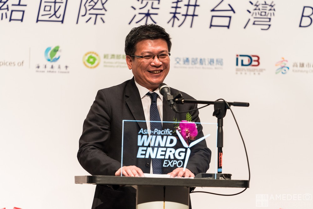 高雄展覽館亞太國際風力發電展經濟部政務次長曾文生致詞活動紀錄