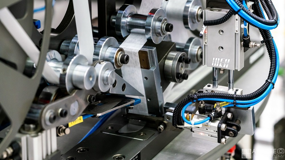 愛的爾自動化機械公司德國設備商業攝影