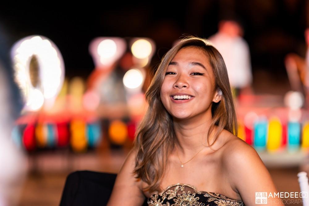 馬禮遜美國學校在西子灣沙灘會館舞會活動照