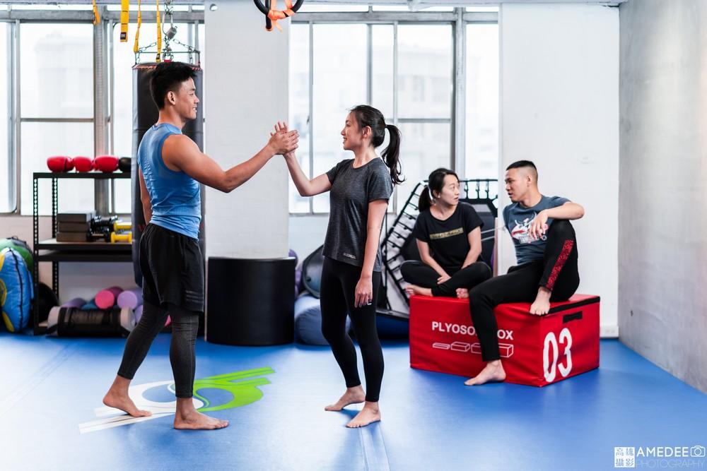 諧動空間運動形象空間健身老師形象照