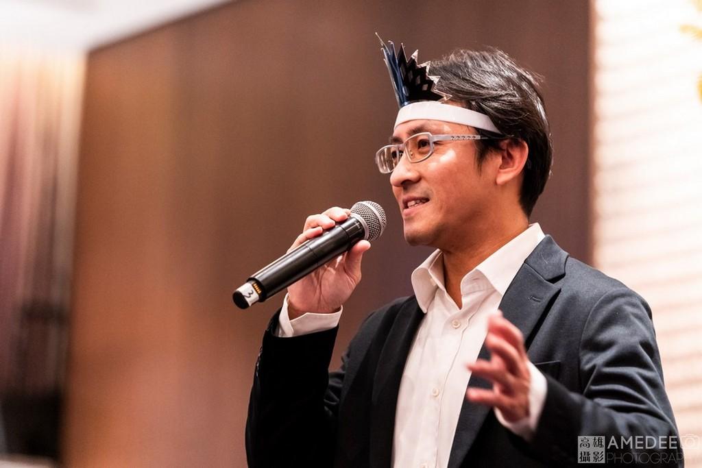 丹利電子主管在台北W Hotel致詞