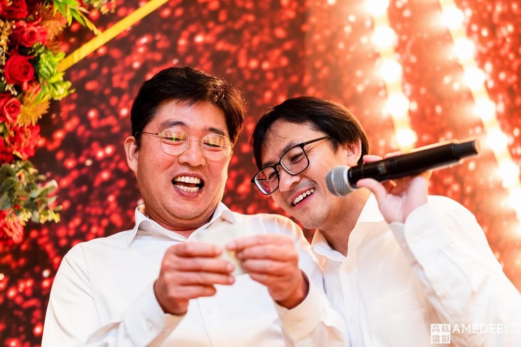 韓國貴賓在台北W Hotel尾牙上抽出大獎