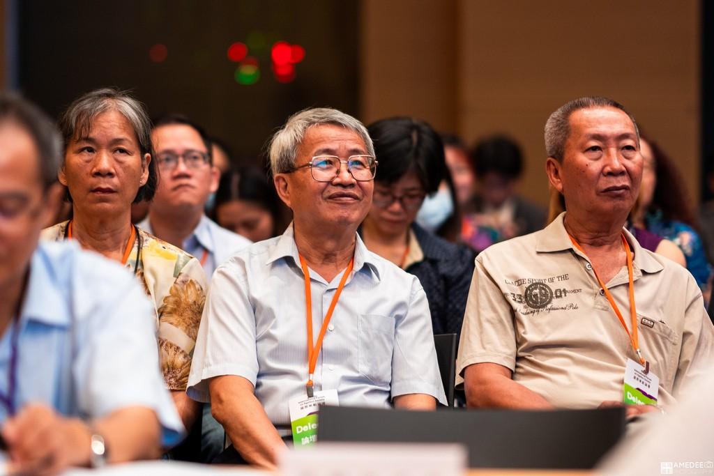 亞洲樂齡智慧生活展無齡論壇來賓