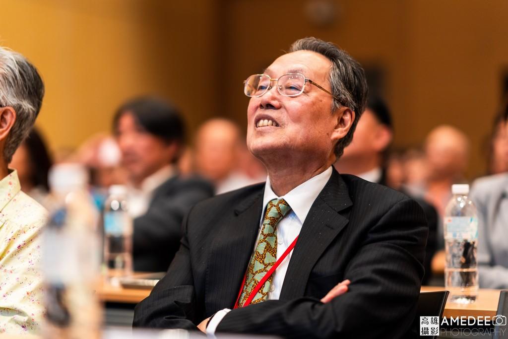 宏碁集團創辦人施振榮參加亞洲樂齡智慧生活展無齡論壇