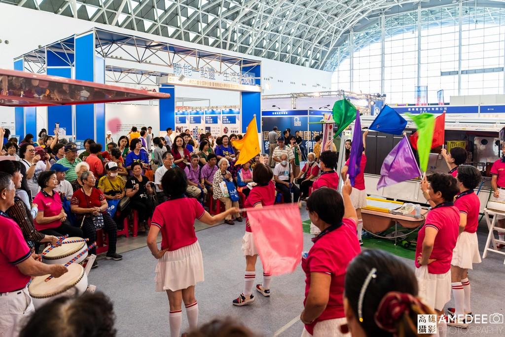 高雄展覽館樂齡展團體表演活動攝影