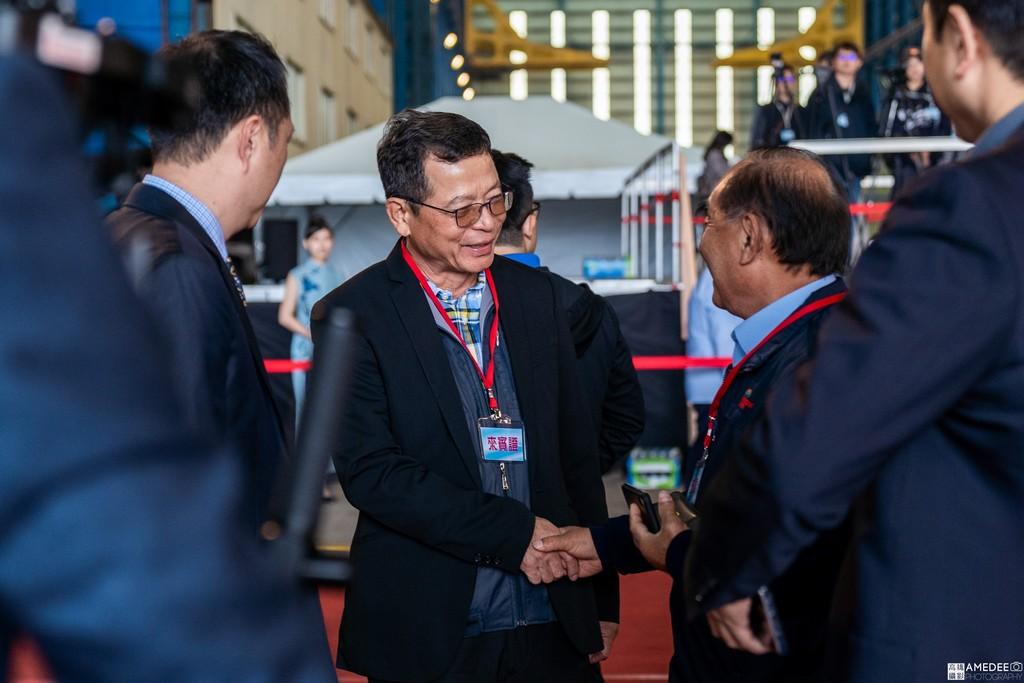 中信造船交船聯合典禮活動攝影