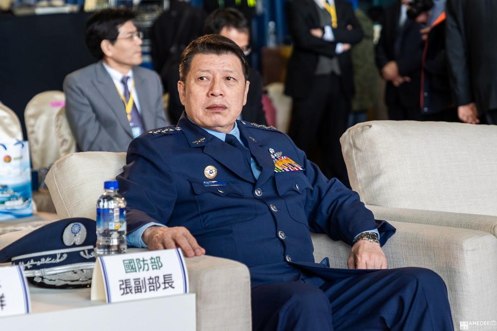 中信造船交船聯合典禮國防部副部長張冠群