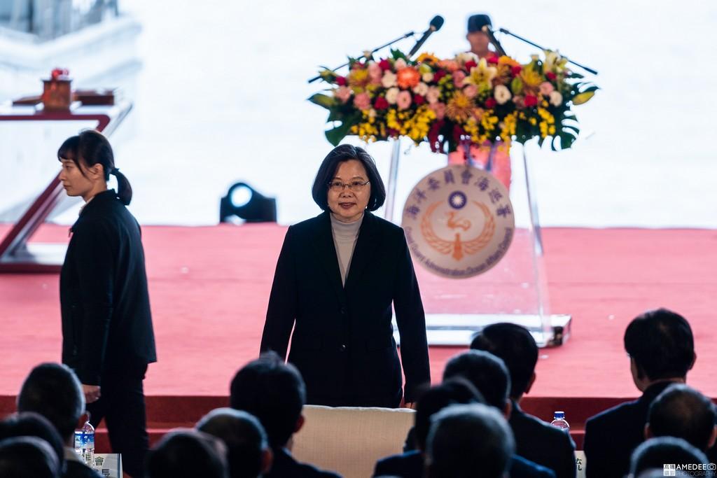 中信造船交船聯合典禮總統蔡英文