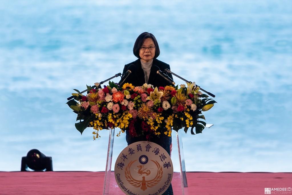高雄中信造船交船聯合典禮總統蔡英文致詞