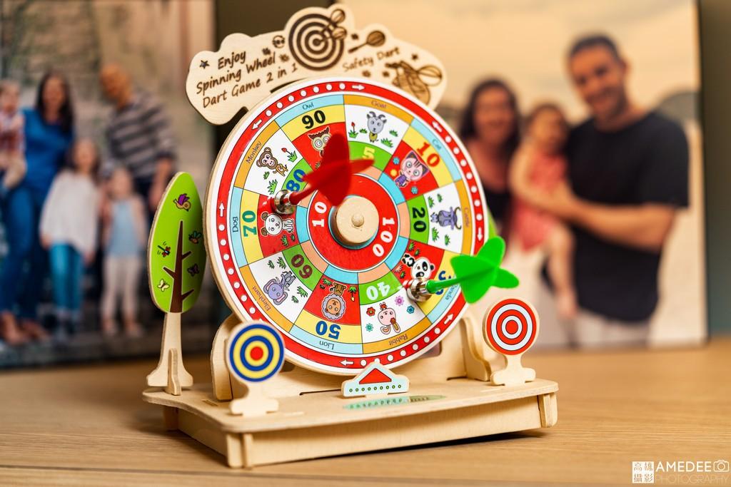 木製玩具商品情境攝影